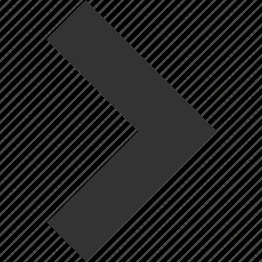 arrow, arrows, direction, forward, next, right, west icon