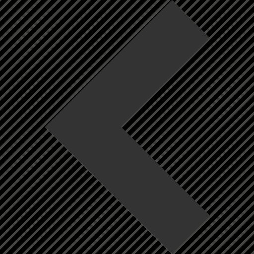 arrow, arrows, back, direction, left, previous, return icon