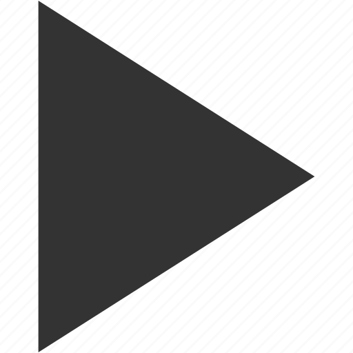 arrow, direction, multimedia, music, play, resume, right icon