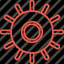gears, settings, wheel