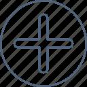 add, new, plu icon