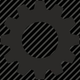 cog, cogwheel, gear, options, settings icon