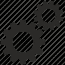 cog, cogwheel, engine, gears, mechanism icon