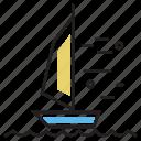 olympics, sport, sports, windsurfing icon