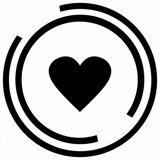 empty, friendship, heart, hearts, love, relationship, shape icon