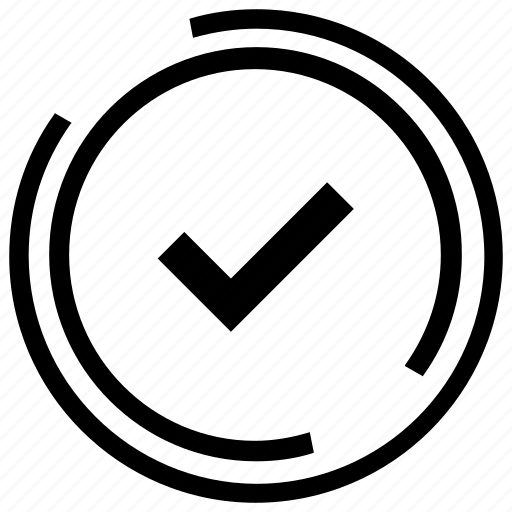 approved, check mark, quality, quality service, sent, verified, vote icon