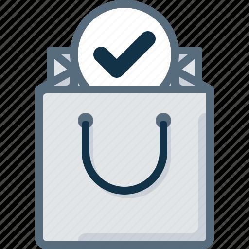 bag, buy, check, shop, shopping icon