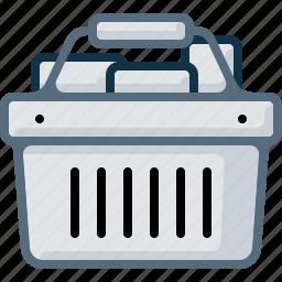 basket, buy, cart, full, goods, shop, shopping icon