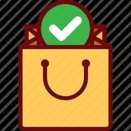 bag, buy, check, ecommerce, shop icon