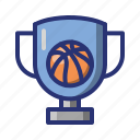 basket, basketball, champion, cup, sport, trophy, winner icon