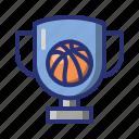 basket, basketball, champion, cup, sport, trophy, winner icon