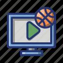 ball, basket, basketball, game, sport, watch