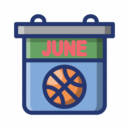 basket, basketball, calender, game, match, schedule, sport icon
