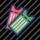 ball, basket, basketball, game, match, sport, ticket icon