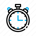 ball, basket, basketball, game, sport, stopwatch, time icon