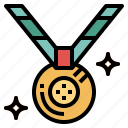 award, certification, medal, winner icon