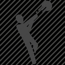 basketball, player, shoot, shooting, sport icon