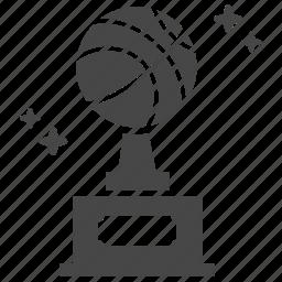 basketball, sport, trophy, win icon