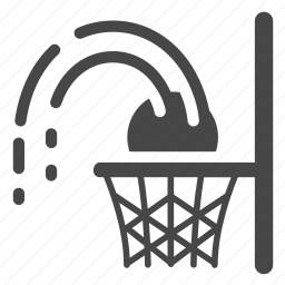 basket, basketball, game, hoop, layup, shoot, sport icon