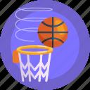 basketball ring, sports, ball, net, basketball