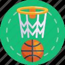 sports, net, basketball ring, basketball ring net, basketball, ball