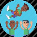 sports, players, basketball players, ball, basketball