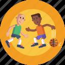 sports, basketball, dribbling, basketball players, players, ball