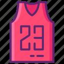 basketball, jersey, nba, shirt icon