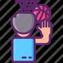 basketball, penalty, shoot icon