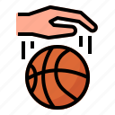 dribble, basketball, sport, game, competition, ball, hand
