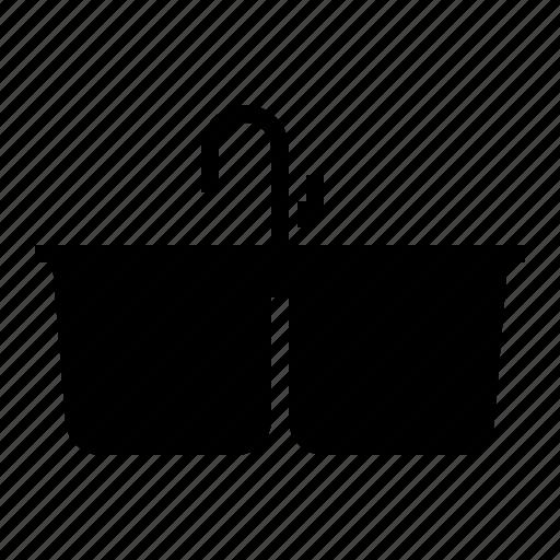 basin, dishwashing, sinker, washbowl icon