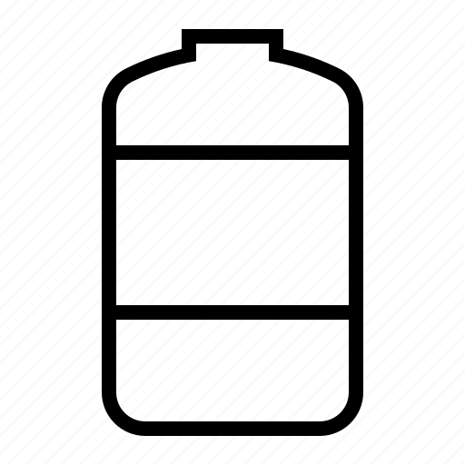 container, tank, vessel, water icon