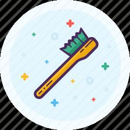 bath, bathroom, brush, clean, sink, water icon