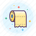 bathroom, paper, poop, restroom, soft, toilet icon