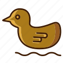bathroom, duck, duck icon, home icon