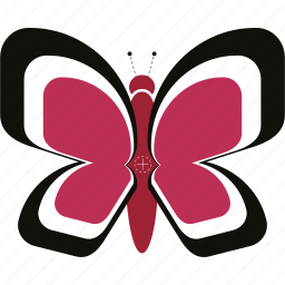 bug, butterfly, insect, wings icon