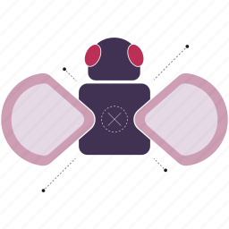 annoying, bug, buzz, fly, insect, wings icon