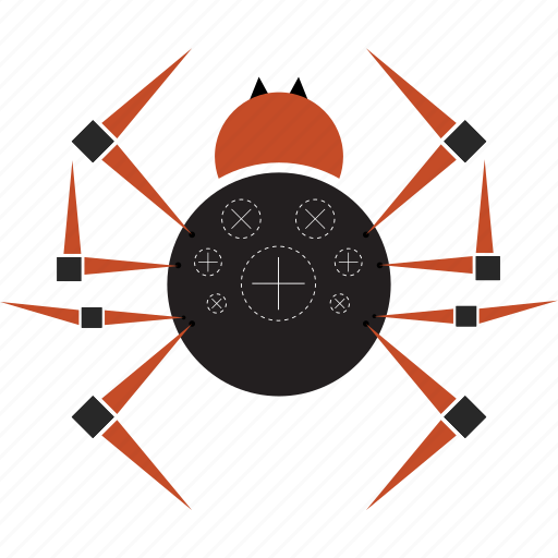 aracnid, bug, insect, spider icon