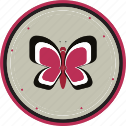 bug, butterfly, graceful, insect, wings icon