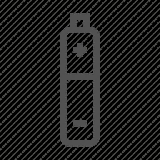 aaa, battery, charge, energy icon