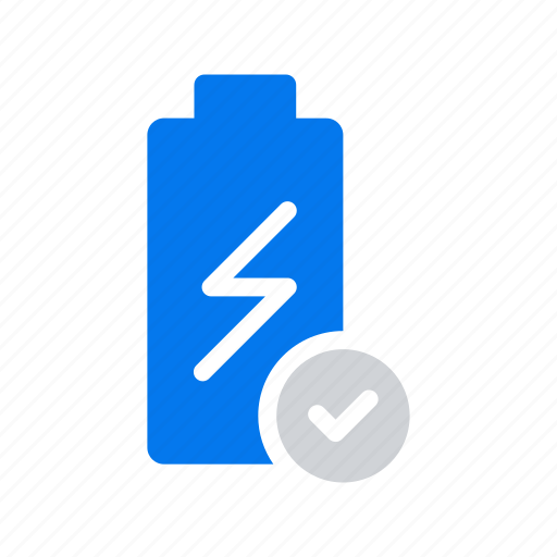 batery charge device energy fullicon icon