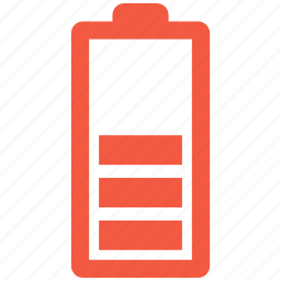 battery, charging, low, power icon