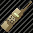 communication, portable, radio, security, talkie, transceiver, walkie icon