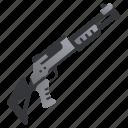 gun, hunter, military, shot, shotgun, weapon