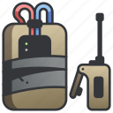 c4, detonation, dynamite, explosion, explosive, remote, time icon