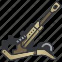 army, artillery, cannon, gun, military, war, weapon icon