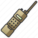 communication, portable, radio, security, talkie, transceiver, walkie icon