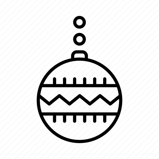 bauble, christmas, decoration, festive, ornament, xmas icon