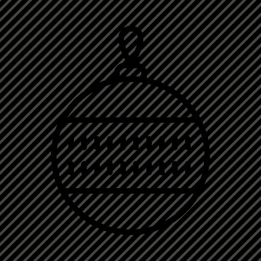 bauble, christmas, decoration, festive, ornament, xmas icon