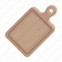 board, cooking, cutting, equipment, food, wood icon